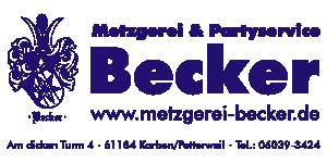 Logo von Metzgerei Becker